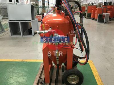 移动液体喷砂机-开放式喷砂机